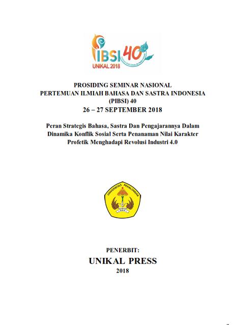 PERTEMUAN ILMIAH BAHASA DAN SASTRA INDONESIA (PIBSI) 40