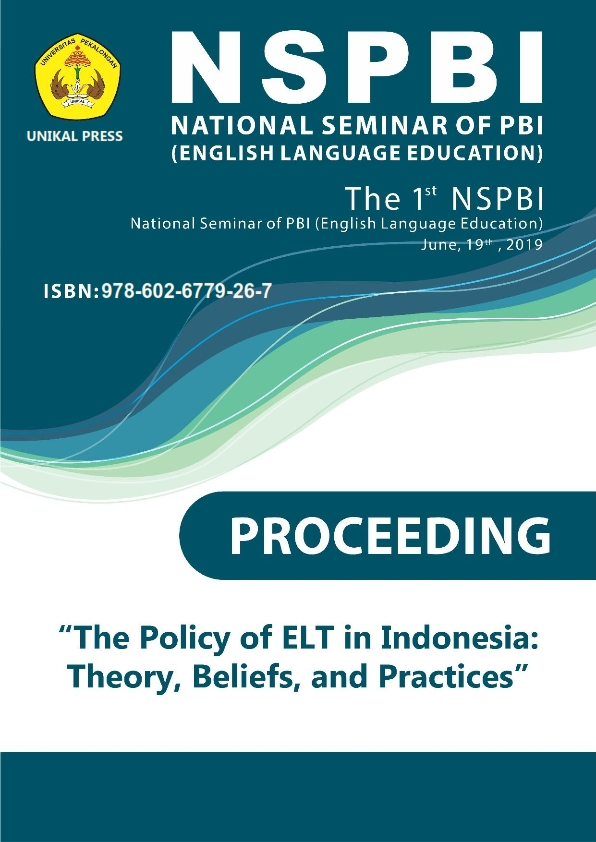 National Seminar of PBI (English Language Education)